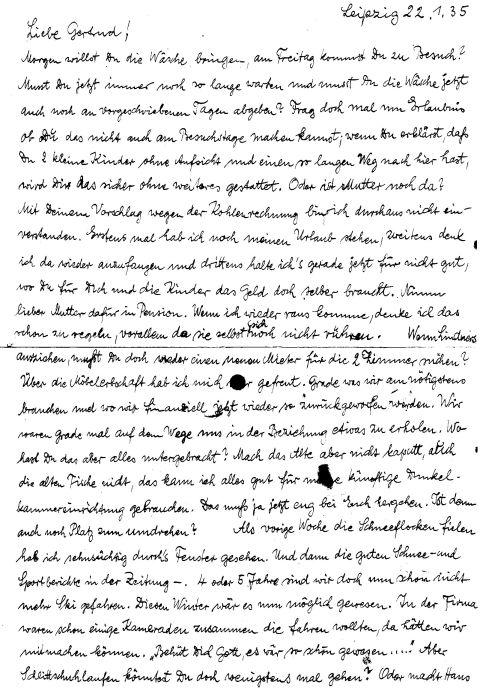 brief schreiben für freund im knast